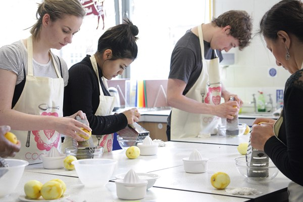 Half Day Cookery Class at Greenwich