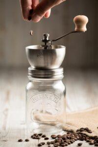 Kilner Coffee Grinder sold by Greenwich Pantry